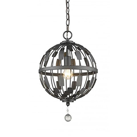 1 Light Pendant 430B12-BRZ - llightsdaddy - Z-Lite - Pendant Lights