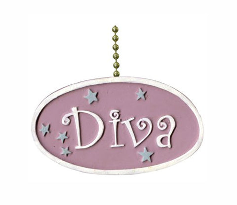 Diva Fan Pull Decorative Light Chain - llightsdaddy - Clementine Design - Pull Chains