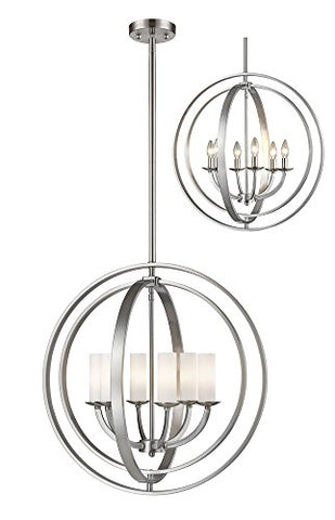 6 Light Pendant 6002-6L-BN - llightsdaddy - Z-Lite - Pendant Lights