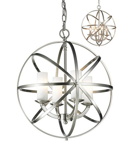 4 Light Pendant 6017-4S-BN - llightsdaddy - Z-Lite - Pendant Lights