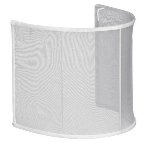Dainolite J570607-119 Softback J15 Organza Shade for Wall Sconce Jos-7-2W, White