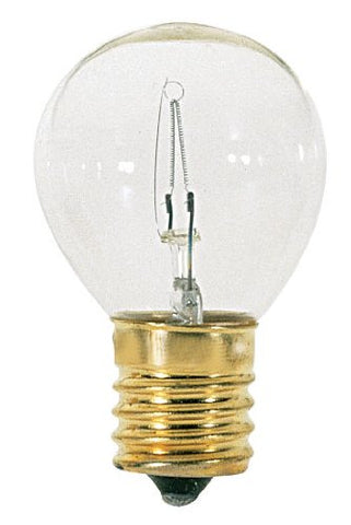 Satco S3630 Intermediate Base 25-Watt S11 Light Bulb, Clear - llightsdaddy - Satco - Wall Plates