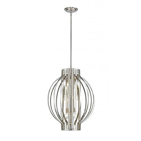 6 Light Pendant 436-20BN - llightsdaddy - Z-Lite - Pendant Lights