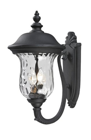 Outdoor Wall Light 533M-BK