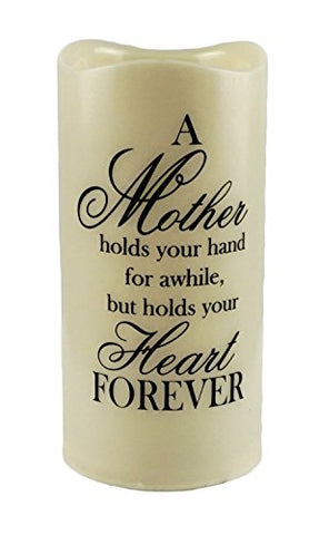 Gerson Mother Holds Your Heart Forever Flameless Memory Candle - llightsdaddy - Gerson - Flameless Candles