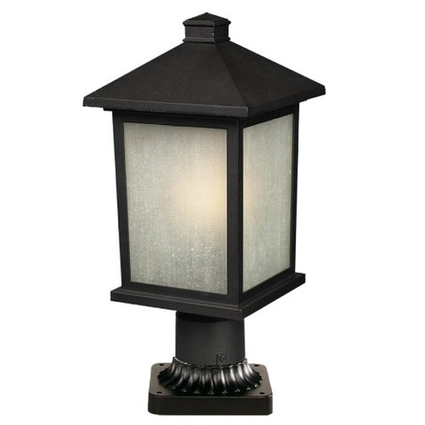 Outdoor Post Light 507PHM-533PM-BK