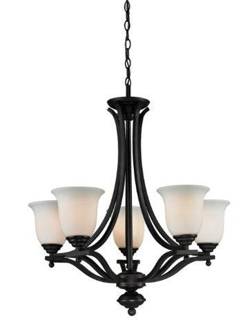 5 Light Chandelier 703-5-MB - llightsdaddy - Z-Lite - Chandeliers