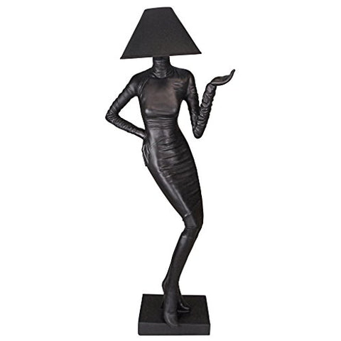 Design Toscano Mademoiselle Haute Couture Floor Lamp - llightsdaddy - Design Toscano - Lamp Shades