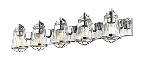 5 Light Vanity - 444-5V-CH - llightsdaddy - Z-Lite - Vanity Lights