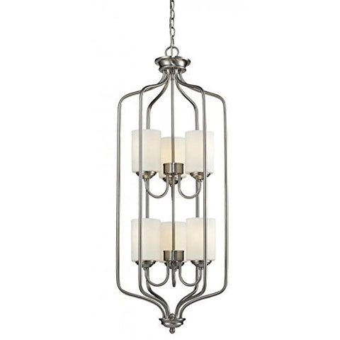 6 Light Pendant 434-40-BN - llightsdaddy - Z-Lite - Pendant Lights