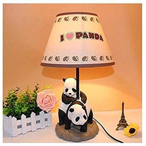 Chinese Garden Creative Cartoon Panda Bedroom Bedside lamp lamp are Warm and Lovely Gifts for Children Study - llightsdaddy - VZND - Lamp Shades