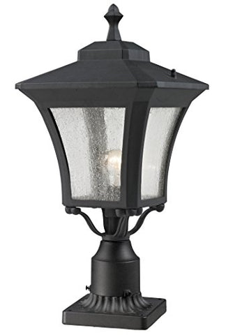 Outdoor Post Mount Light 535PHM-BK-PM