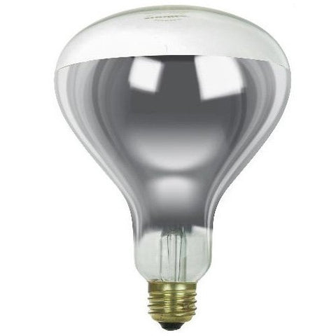 Sunlite 375R40/H/CL Incandescent 375-Watt, Medium Based, R40 Heat Lamp Bulb, Clear - llightsdaddy - Sunlite - Wall Plates