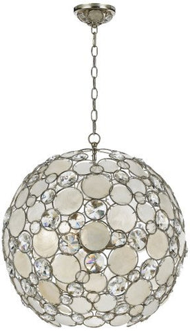 Crystorama 529-SA Palla Chandelier - 21W in
