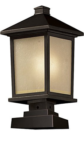 Outdoor Post Light 537PHB-SQPM-ORB