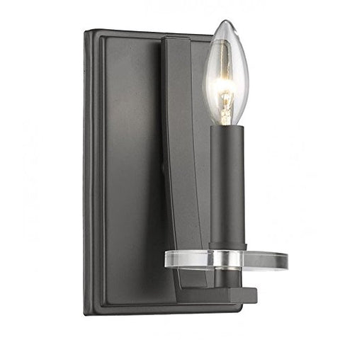 1 Light Wall Sconce 2010-1S-BRZ - llightsdaddy - Z-Lite - Wall Sconces and Lamps
