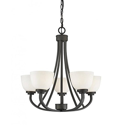 5 Light Chandelier 443-5-BRZ
