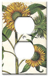 Outlet Cover Wall Plate - Sunflowers - llightsdaddy - Art Plates - Wall Plates