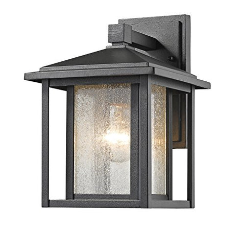 1 Light Outdoor 554S-BK