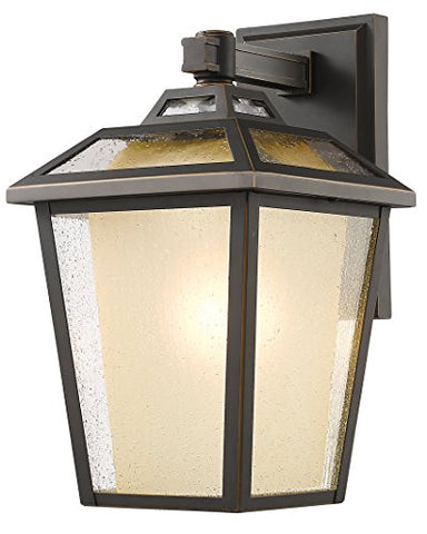 1 Light Outdoor Wall Light 532B-ORB - llightsdaddy - Z-Lite - Outdoor Porch & Patio Lights
