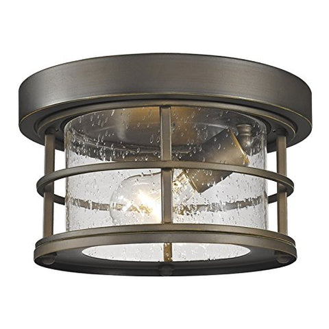 1 Light Outdoor 555F-ORB - llightsdaddy - Z-Lite - Outdoor Porch & Patio Lights