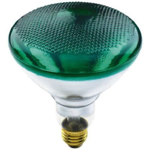 KEYSTORE INTL MCO 70893 Westpointe Flood Beam Accent Reflector Light Bulb, 100W, Green