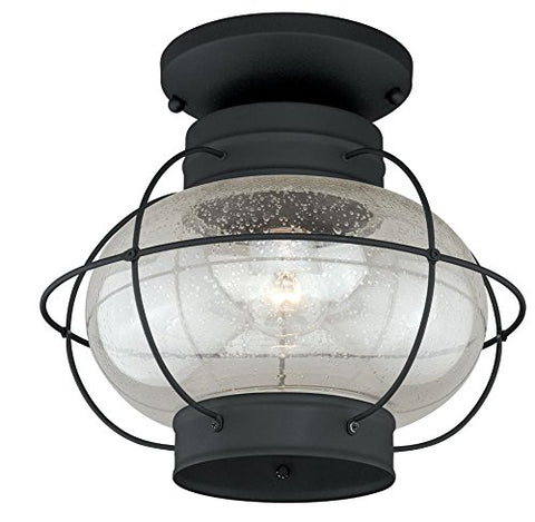 Vaxcel One Light Outdoor Ceiling T0144 One Light Outdoor Ceiling