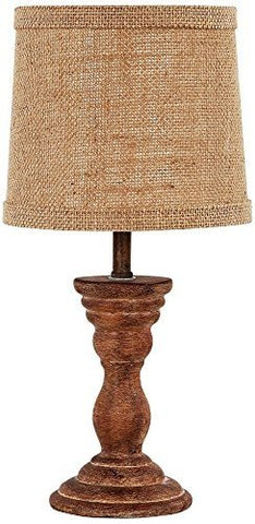 AHS Lighting L2158WS-UP1 Randolph Brown Accent Lamp