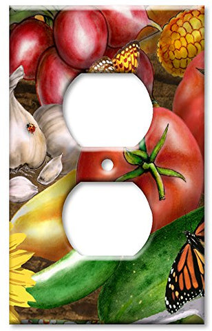 Outlet Cover Wall Plate - Thanksgiving - llightsdaddy - Art Plates - Wall Plates