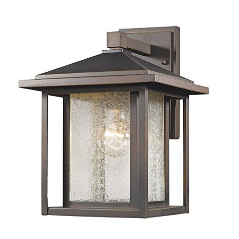 1 Light Outdoor 554M-ORB - llightsdaddy - Z-Lite - Outdoor Porch & Patio Lights