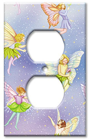Outlet Cover Wall Plate - Fairies - llightsdaddy - Art Plates - Wall Plates