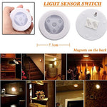 Sensor light - Fheaven 3 LED Wireless PIR Auto Motion Sensor Infrared Night Light Cabinet Stair Lamp (No battery)  Fheaven Lamp Shades llightsdaddy.myshopify.com lightsdaddy