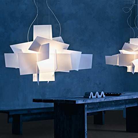 White Big Bang Chandelier Lamp Lighting Pendant Dia 354 Large Size