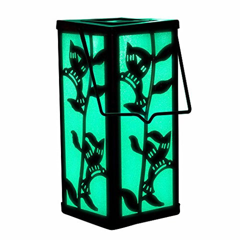 Hanging Lantern Color Changing Christmas Decoration Solar Hummingbird Garden Outdoor Light For Home Patio Deck Lawn Yard Holiday Decor - llightsdaddy - Solarduke - Lights