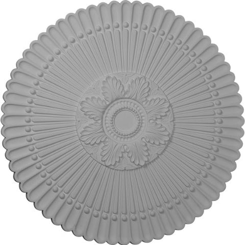 "Ekena Millwork CM30NE Nexus Ceiling Medallion, 30""OD x 1 1/4""P (Fits Canopies up to 2 3/4""), Factory Primed"