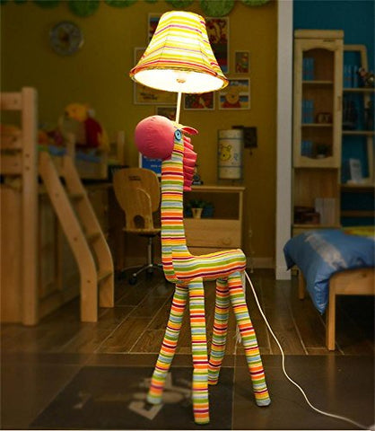 WENBO HOME- Cartoon lovely Small animals Modern Minimalist Living Room Bedroom Children's room Aisle Corridor Iron Cloth Floor Lamp Light -floor lamp - llightsdaddy - Floor lamp-WENBO HOME - Lamp Shades