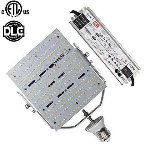 240W Led Shoebox Retrofit 1000 Watt Metal Halide E39 Mogul Base Area Security Light,5700K Daylight White,Use in Gas Station/Tennis Court/Parking Lot