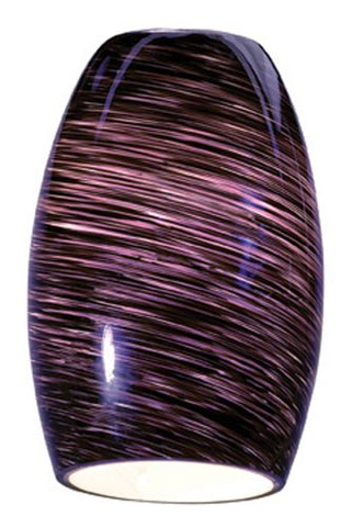 Chianti - Pendant Glass Shade - Purple Swirl Glass Finish - llightsdaddy - Access Lighting - HI - Indoor String Lights