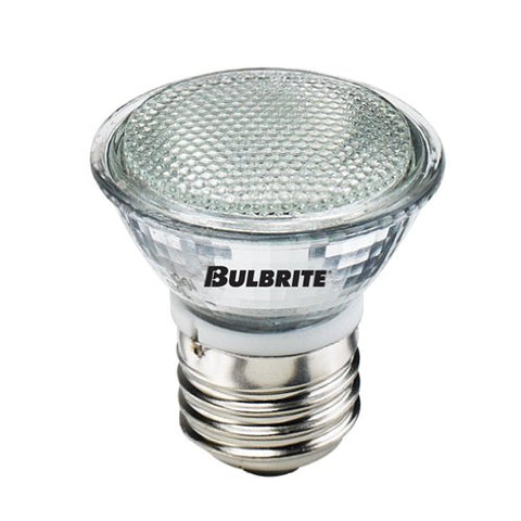 Bulbrite EXN/E26 50 Watt Dimmable Halogen MR16 Lensed Medium Base Clear 10 Ct