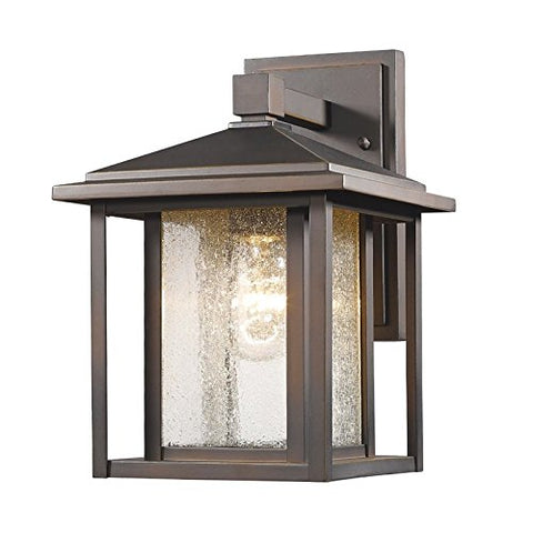 1 Light Outdoor 554S-ORB - llightsdaddy - Z-Lite - Outdoor Porch & Patio Lights