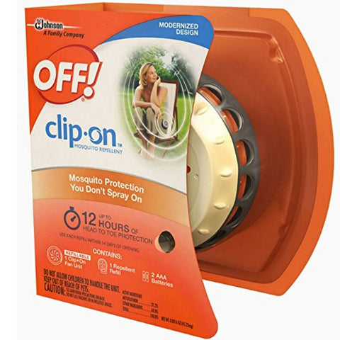 OFF! Clip On Mosquito Repellent Fan Unit 1 ea ( Pack of 10 )  GE Ceiling Light Fixtures llightsdaddy.myshopify.com lightsdaddy