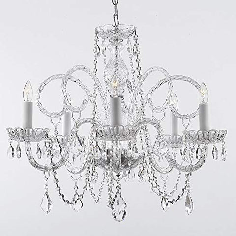 "Empire Victorian Chandelier With Swarovski Crystal H25"" X W24"" - llightsdaddy - Gallery - Chandeliers"