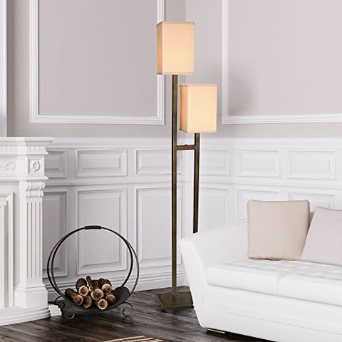 Van Teal 667862 Two Steps You Will Remember Floor Lamp, Caramel - llightsdaddy - Van Teal - Lamps