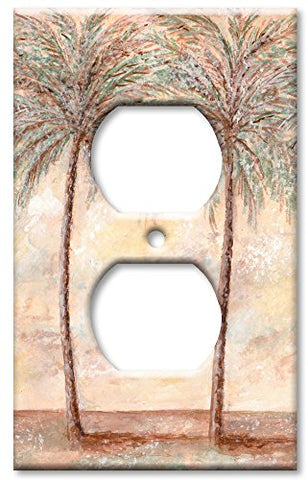 Outlet Cover Wall Plate - Palm Trees - llightsdaddy - Art Plates - Wall Plates