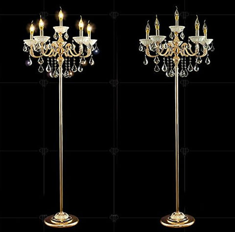 Zinc Alloy Heavy Base Floor Lamp Ground Lamp Light Chandelier Color Gold  Unknown Lamp Shades llightsdaddy.myshopify.com lightsdaddy