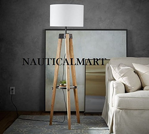 Classic Designer Miles Tripod Floor Lamp For Living Room - llightsdaddy - NAUTICALMART - Outdoor Floor Lamps