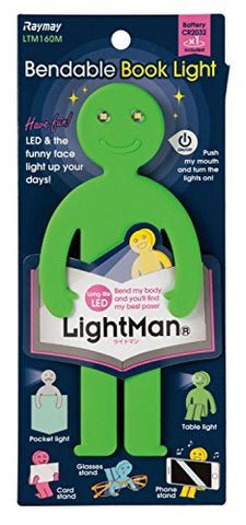 NEW LigntMan Green LTM160M Bendable LED Book Lights Raymay - llightsdaddy - Raymay - Book Lights