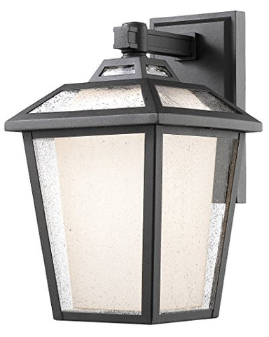 1 Light Outdoor Wall Light 532B-BK - llightsdaddy - Z-Lite - Outdoor Porch & Patio Lights