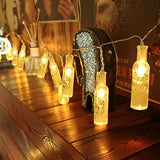 WAYNEWON LED Wine Bottles Lights, Battery Operated String Lights with Remote Control 鈧 Best Wedding Party Home Christmas Decorations (Warm White Glow) - llightsdaddy - WAYNEWON - Indoor String Lights