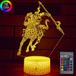 Hllkyylf Baby Knight Gifts Knight Light 16 Color Changing Kids Lamp With Touch And Remote Control Knight Toys Light As Gift Idea For Home Decor Or Birthday Gifts For Baby